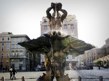 Triton Fountain, Rome, Italy