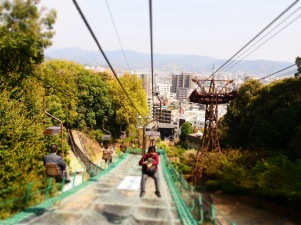 That's my chairlift experience Uphill, you have a little piece and quiet to yourself, but the queue is longer than the ropeway.