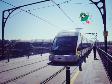 The light rail is a convenient way to travel around the city :)