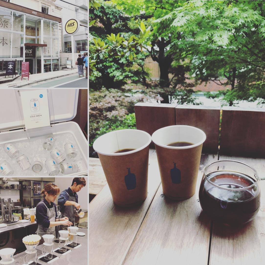 Yummylicious Tokyo - Omotesdano - Blue Bottle