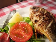 Grilled fish @ Fernando - I can eat this all day