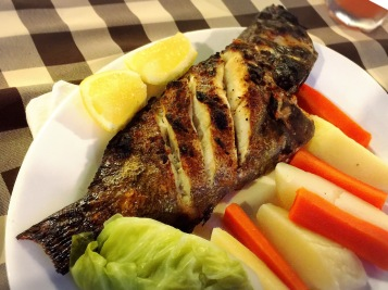 Grilled fish @ Miramar