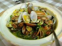 yummy clams @ Alorcha