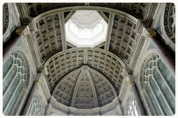 The roof of the chapelle haute - art, art, and art!