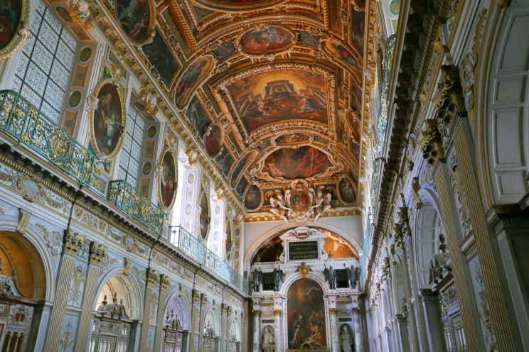 The Chapel of the Trinity is just magnificent.