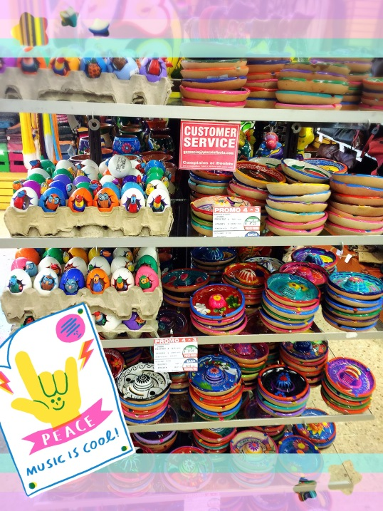 Painted bowls - small and colorful gifts for your friends @ home!