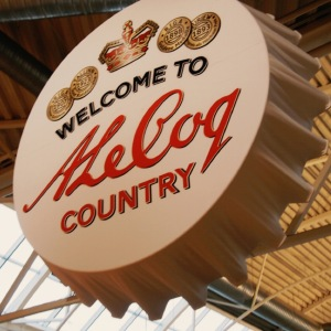 """A Le Coq - The country's oldest local brewery"""