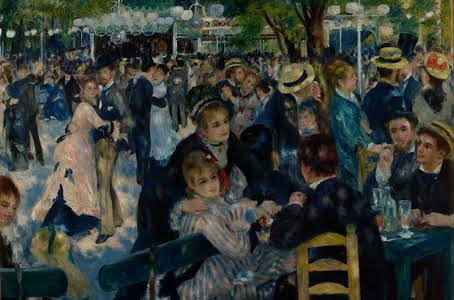 Renoir - Bal du moulin de la Galette