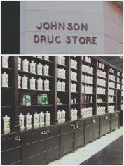 The historic Johnson drug store