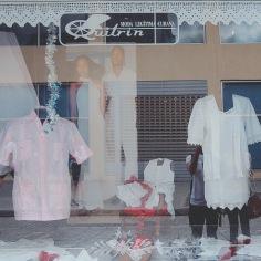 An interesting window display in Havana