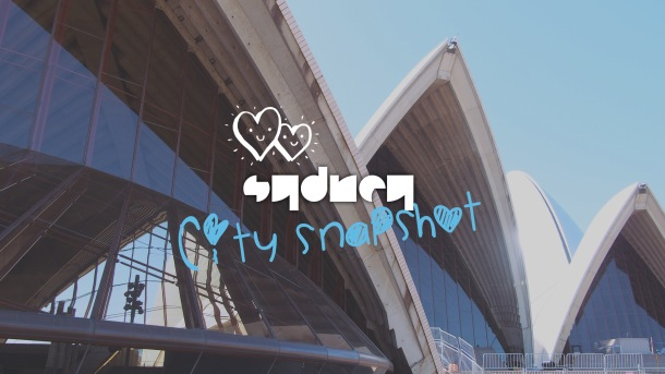 Sydney, City Snapshots - Cover