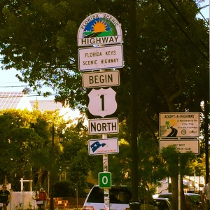 Key West Mile 0