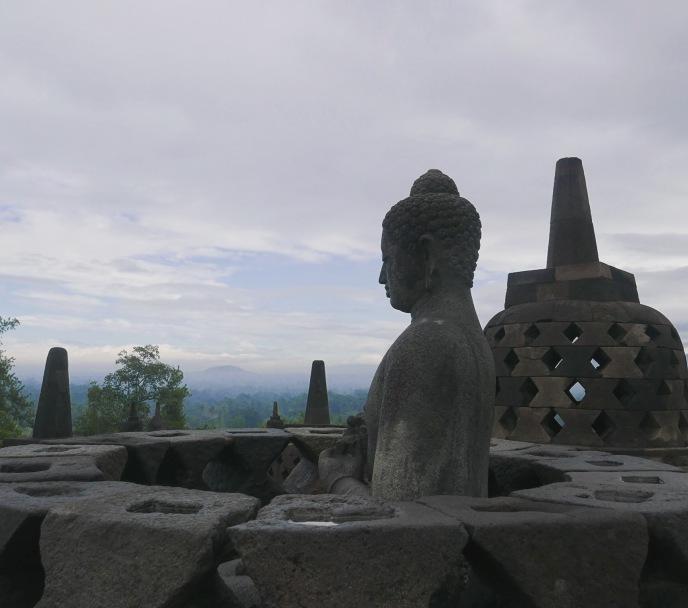Yogyakarta Java Borobudur 10