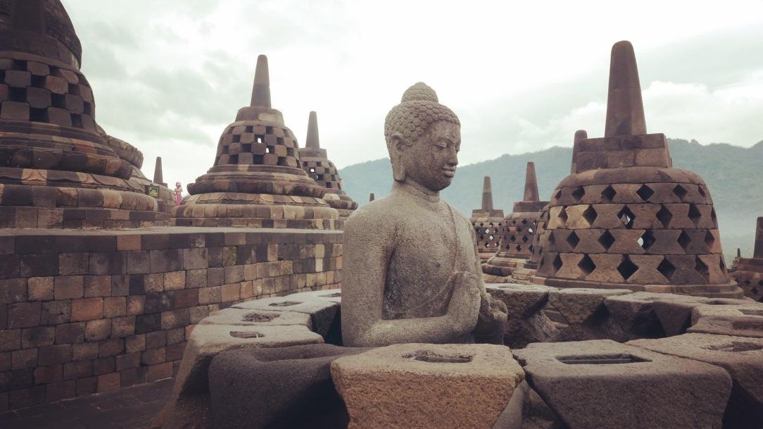 Yogyakarta Java Borobudur 9