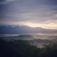 Yogyakarta Java Borobudur sunrise 1