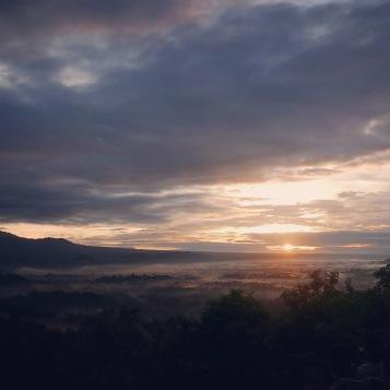 Yogyakarta Java Borobudur sunrise 2