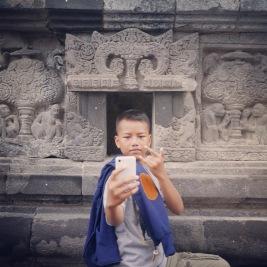 Yogyakarta Java Prambanan - tourist 1