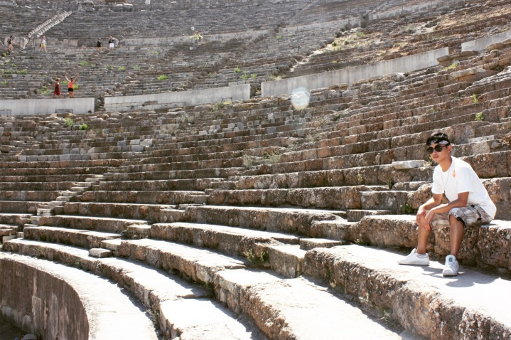 Originally holding 25,000 people, this theater was built in the Hellenistic period and was renovated by several Roman emperors.