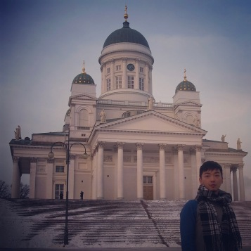Helsinki Cathedral in the snow ~ :)