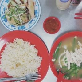 Kuala Lumpur - Jalan Petaling Chicken Rice