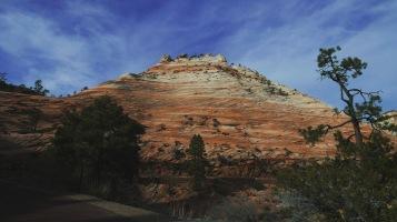 eroded sandstone slopes