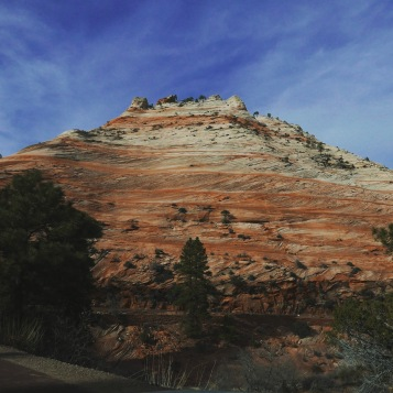eroded sandstone slopes