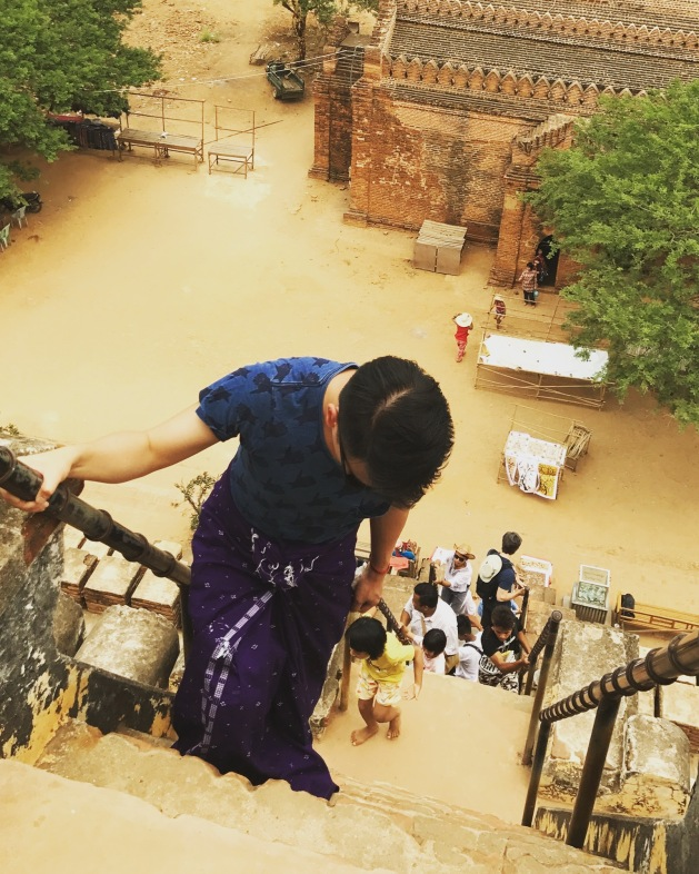 Bagan 5 Shwesandaw Pagoda 2