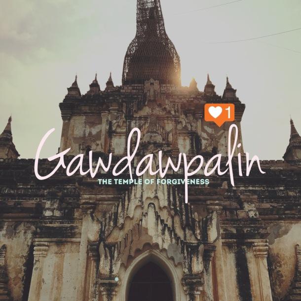 Bagan 9 Gawdawpalin Temple 0