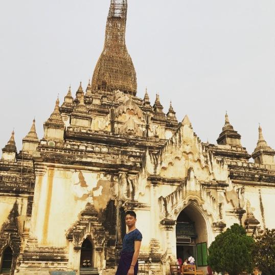Bagan 9 Gawdawpalin Temple 1
