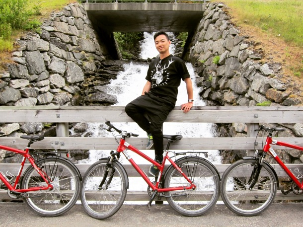 Flåm , Norway 2 - bike ride