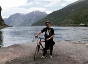 Flåm , Norway 3 - bike ride