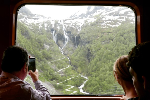 Flåm , Norway 6 - train