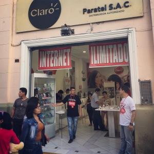 Lima - photo card