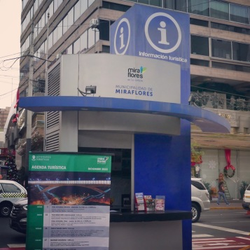Lima - travel info booth