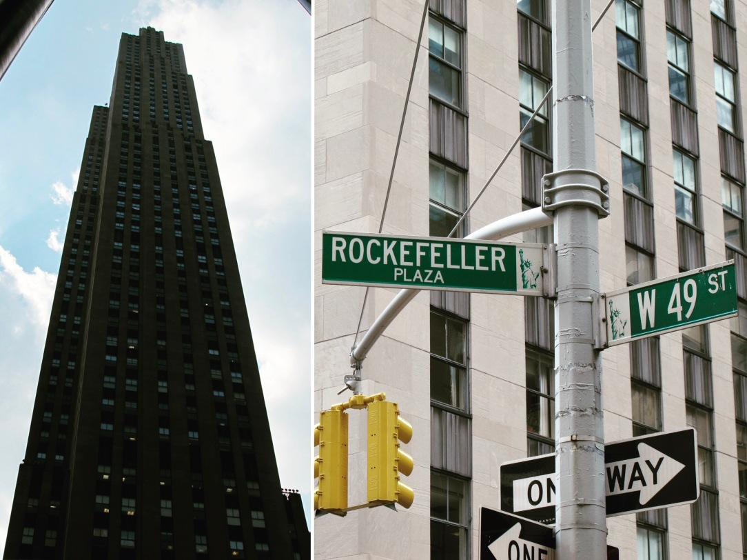 2. NYC Rockefeller Center