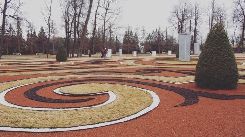 Catherine Palace - garden