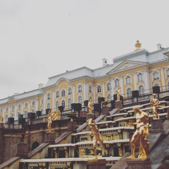 Peterhof - Samson Fountain