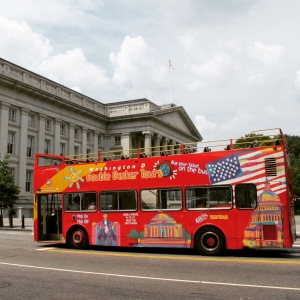 Washington DC HOHO Bus