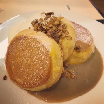 Souffle Pancakes, Osaka, Japan