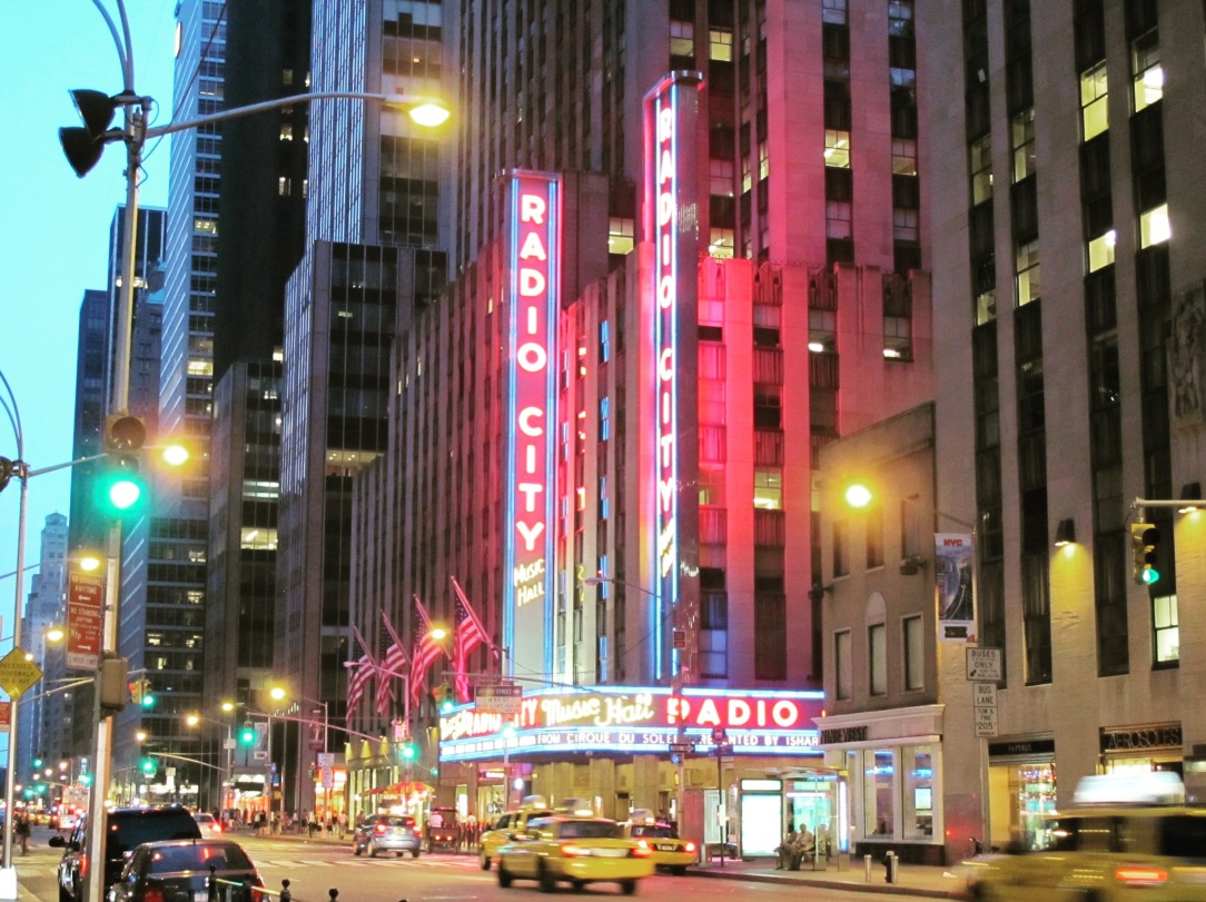 7. Radio City Music Hall