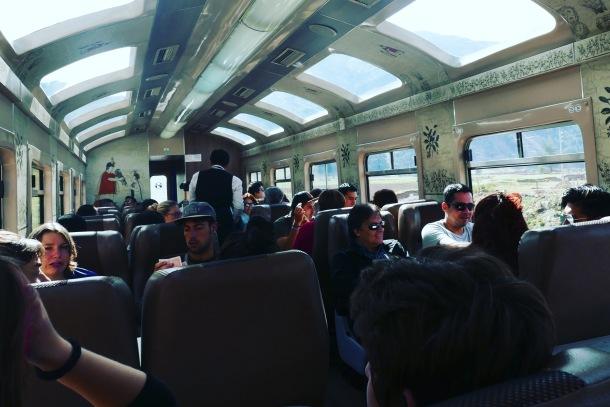 Machu Picchu - 10 train