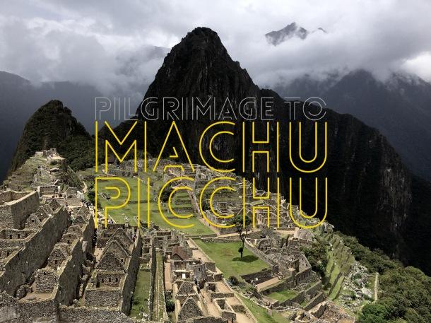 Machu Picchu - Cover