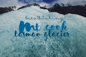 Tasman Glacier, theExplorer.