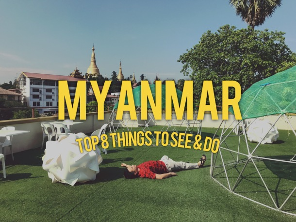 Top 8 things to do - Myanmar Cover
