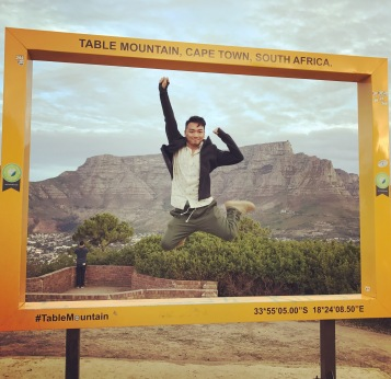 Cape Town - Table Mountain Photo Frame 2