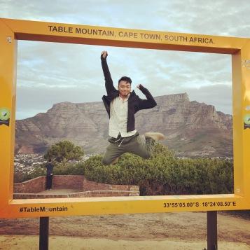 Cape Town - Table Mountain Photo Frame 2