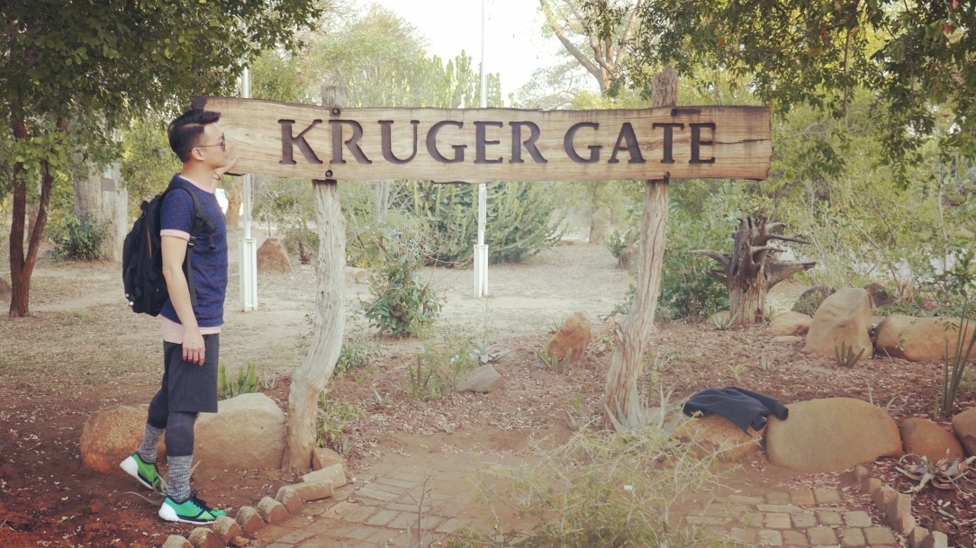 South Africa, Kruger - Safari Kruger Gate