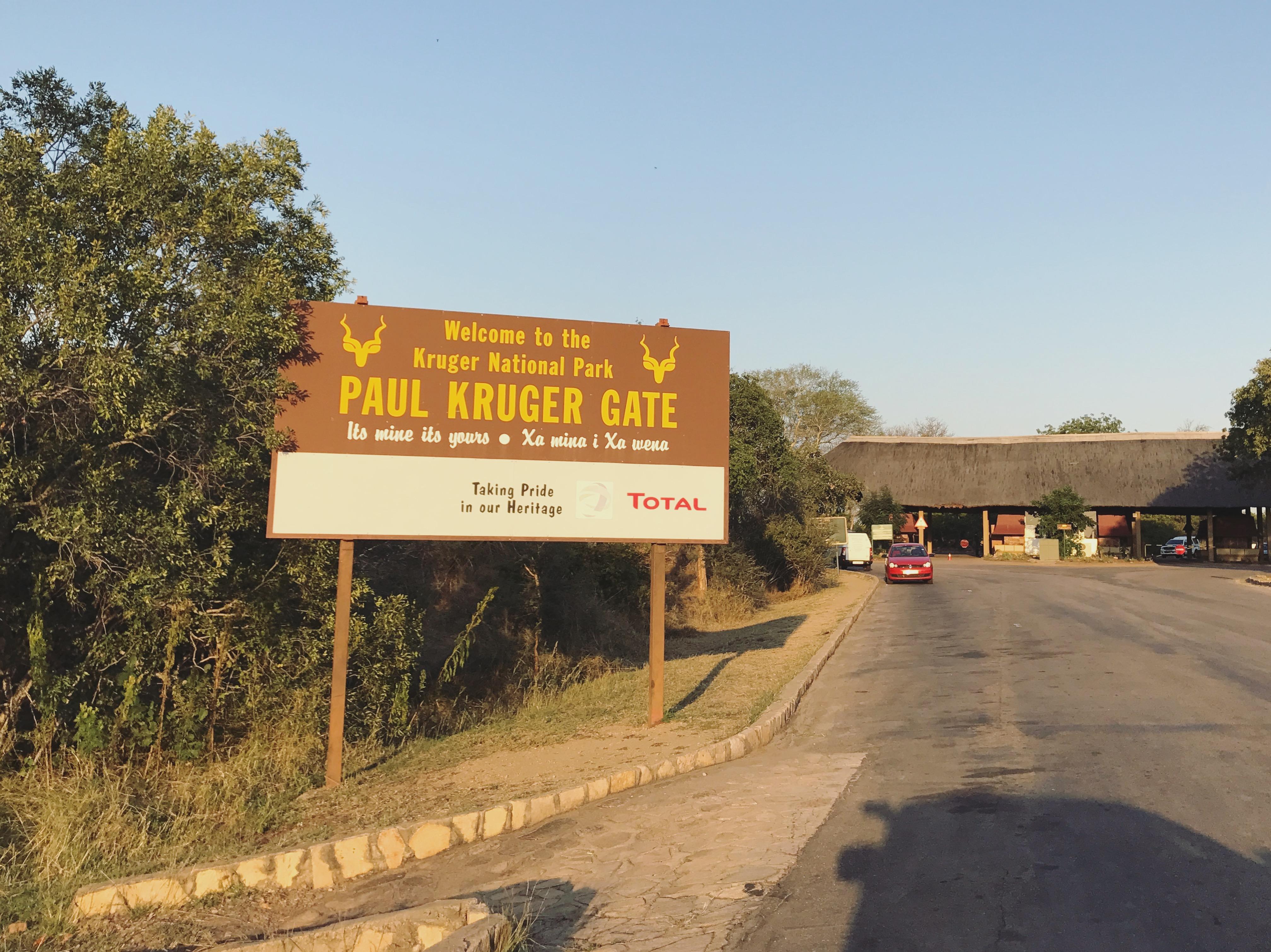 South Africa, Kruger - Safari Paul Kruger Gate