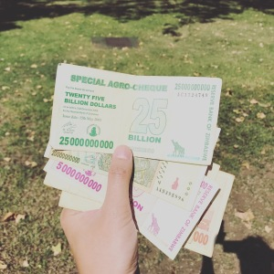 Victoria Falls - Zimbabwe Dollars