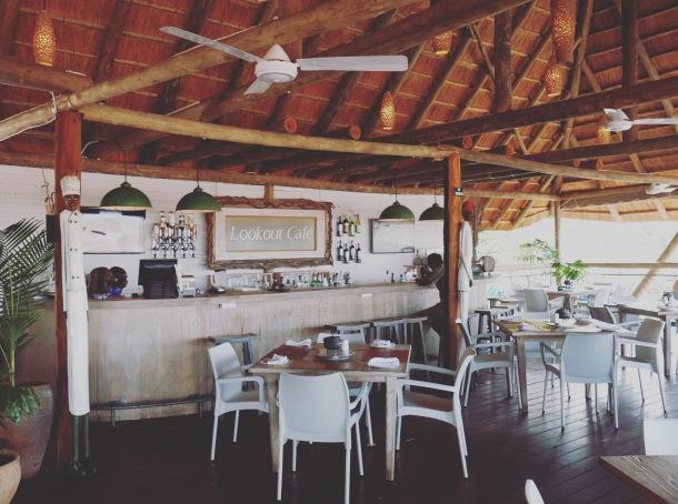 Victoria Falls - Zimbabwe Lookout Cafe
